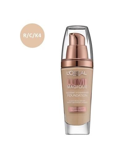 L'Oréal Paris Lumi Magique Fond.Liquid Light R/C/K4 Rose  Renkli